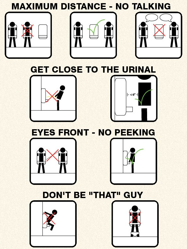 Pooping etiquette at work